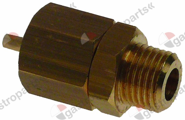 529.304, aerator and air bleeder screw connection 1/4