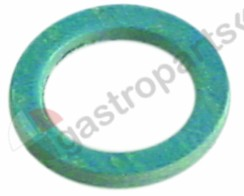 529.349, flat gasket FIBER D1 ø 22mm D2 ø 16,5mm thickness 2mm for thread 3/8