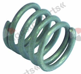 529.356, compression spring ø 21,4mm L 21mm wire gauge ø 2,7mm