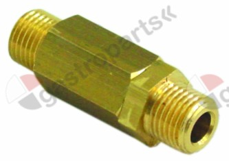 529.395, non-return valve inlet 1/4