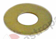529.493, plain washer brass