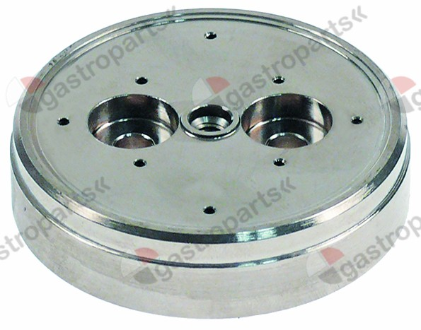 529.495, water dispersion ø 57,6mm H 14mm 8 holes hole ø 1,5mm thread M5 mounting ø 5,5mm