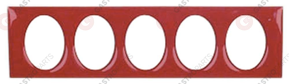 529.964, front foil control red L 102mm W 27mm