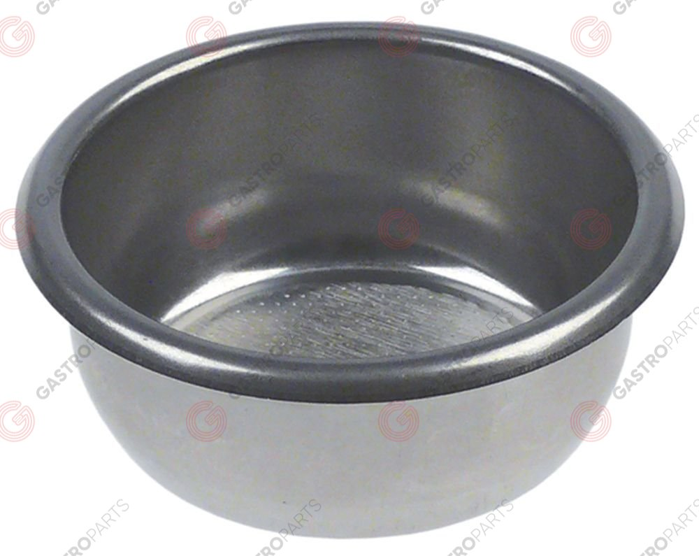 529.973, coffee filter ø 70mm mounting ø 60mm H 28mm cups 3 amount of coffee 21g