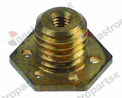 529.976, water dispersion o 19,3 mm M10x1,5 hole o 3,3 mm