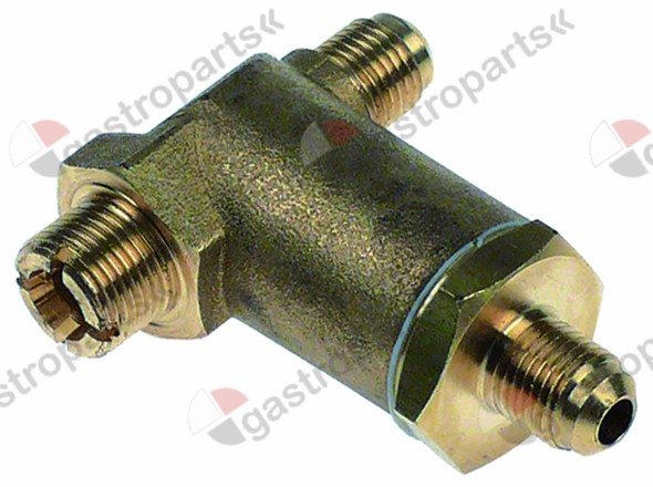 529.991, expansion valve T1 1  T2 1  T3 3/8  T-shape