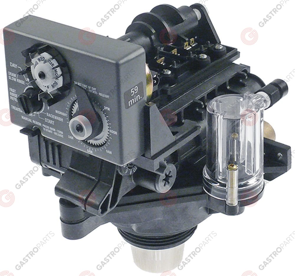 530.032, valve tap head with control Autotrol 255/440 (timer)