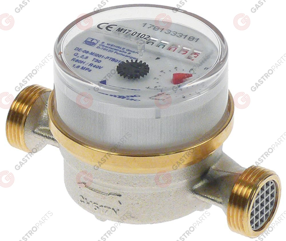 530.094, water meter analogue connection 3/4  ET - 3/4  ET