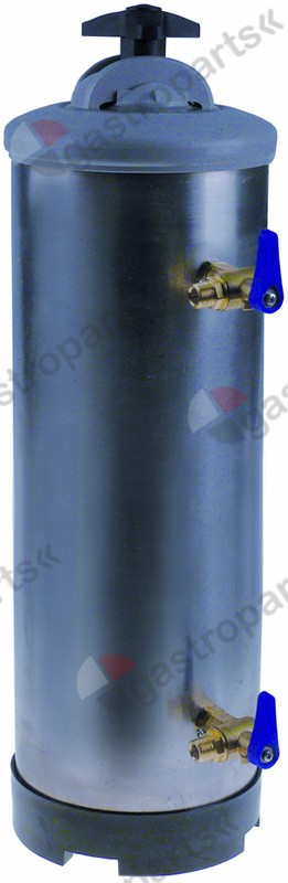 530.126, softener manual with 2 valves container capacity 16l amount of resin 11,2l