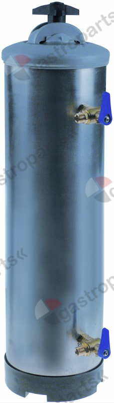530.127, softener manual with 2 valves container capacity 20l amount of resin 14l