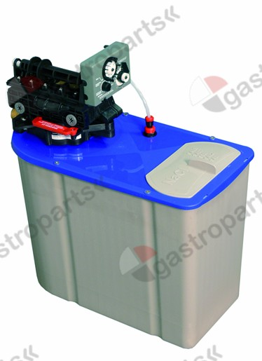 530.130, Replaced by 530809 / softener automatic type CAB LT8container capacity 8l amount of resin 5,6l