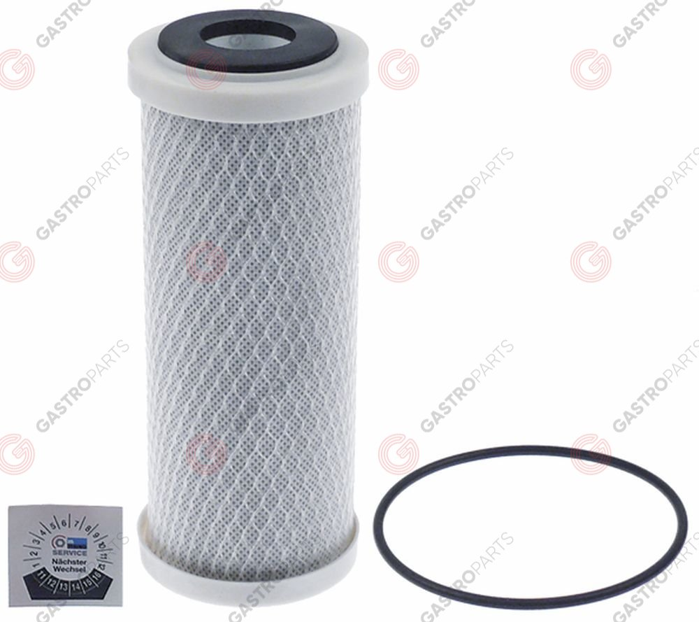 530.384, water filter MEIKO o 64mm H 175mm