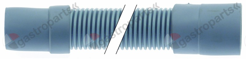 530.575, drain hose DN31 L 1000mm A int. ø 36mm A ext. ø 40mm B int. ø 40mm B ext. ø 46mm