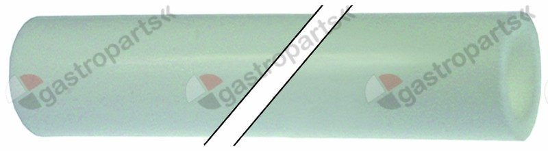 530.741, silicone hose straight for ice-cube maker