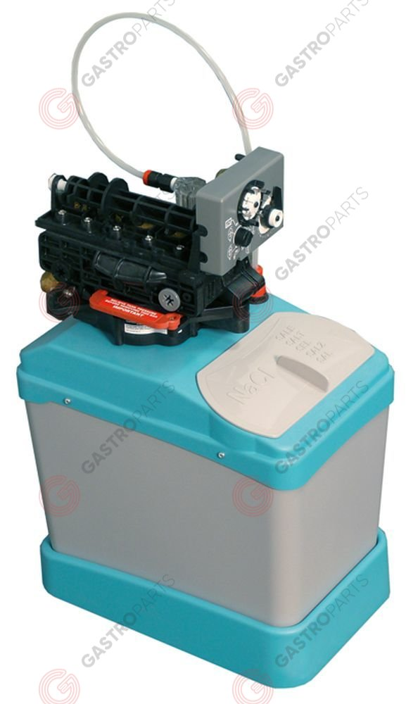 530.810, Replaced by 530808 / softener automatic type CABLT5container capacity 5l amount of resin 3,8l