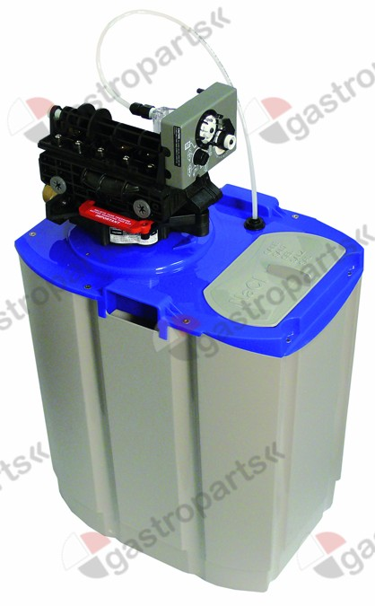 530.811, Replaced by 530824 / softener automatic type CABLT12container capacity 12l amount of resin 8,4l