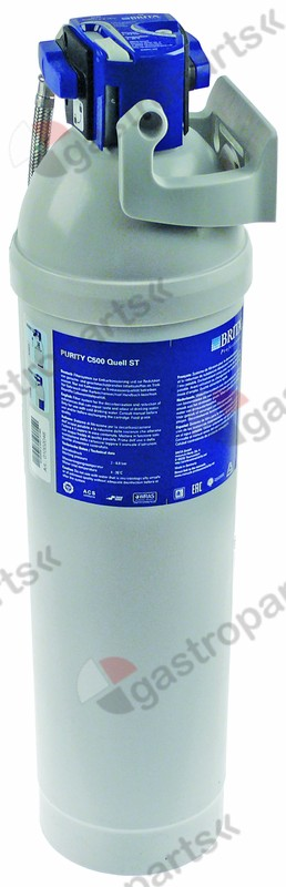 530.863, water filter BRITA type PURITY C150 Quell ST capacity 1278-2408l flow rate 100l/h