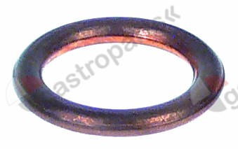 533.001, gasket copper D1 o 16,8mm D2 o 12mm