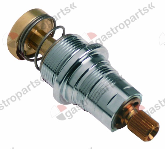 535.008, non-return valve tap head without plunger bush bearing thread M25x1.25