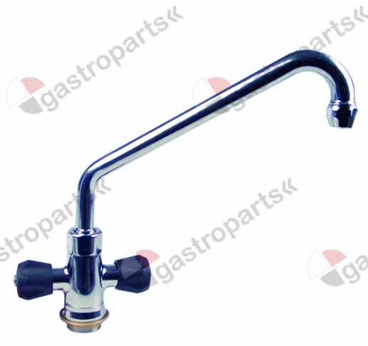 540.092, monobloc tap spout projection 300mm spout height 270mm tap head 3/4