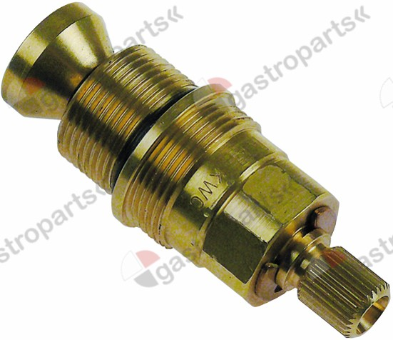540.305, tap head without plunger bush bearing M20x1,25