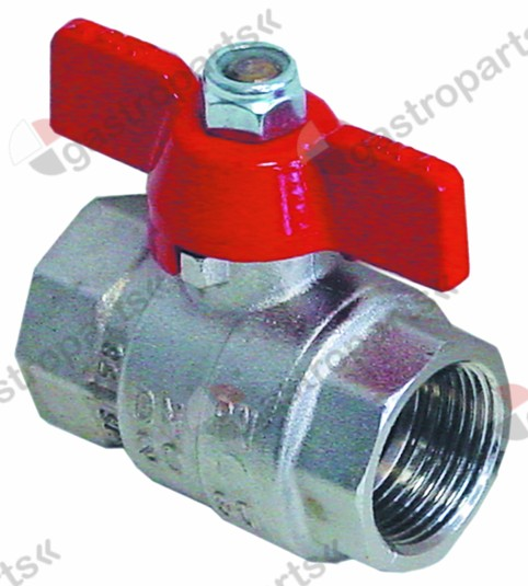 540.646, ball valve connection 3/4  IT - 3/4  IT DN20