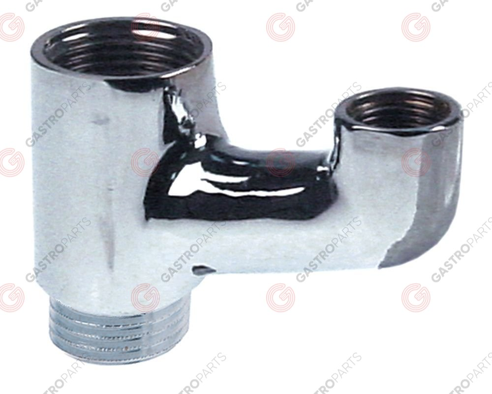 540.817, fitting support 1  ET suitable for manometer