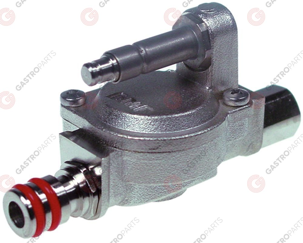 540.897, drain solenoid valve 5V DC without coil