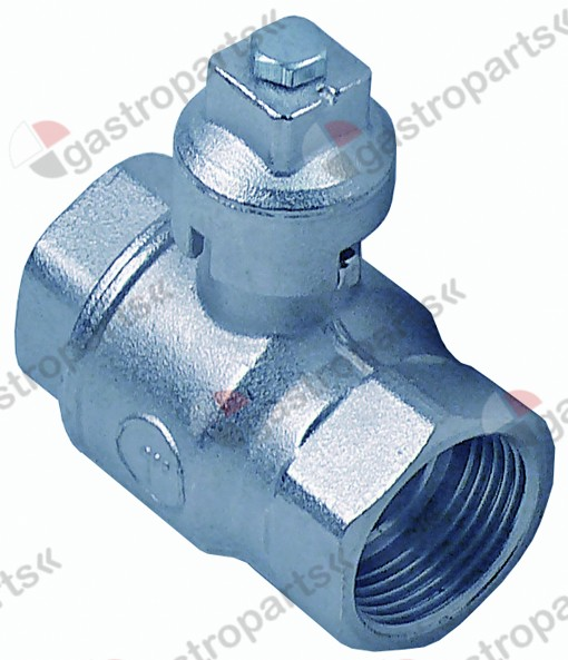 540.927, ball valve connection  total length 71 mm