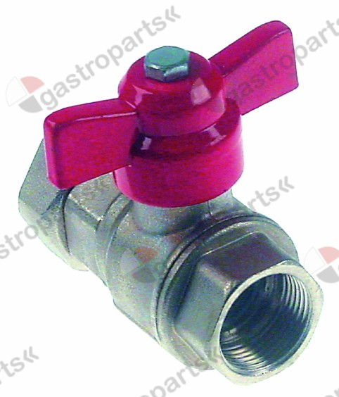 540.937, ball valve connection  total length 80 mm