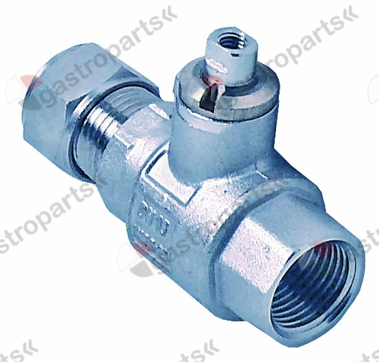 540.975, ball valve screw pipe fitting 16 L 67mm