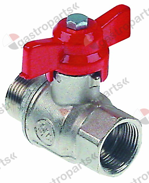 540.982, ball valve connection 3/4  IT - 3/4  ET DN20