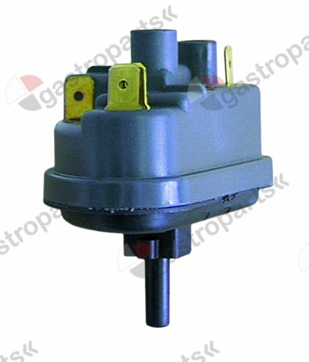 541.066, pressure control pressure range 100/60mbar connection 6mm ø 74mm pressure connection vertical