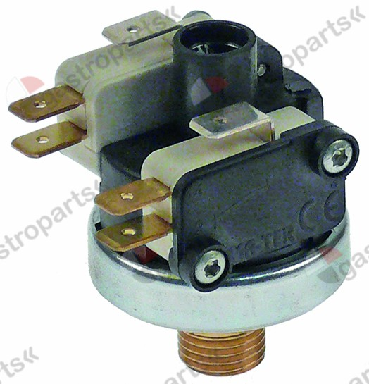 541.107, pressure control ø 38mm pressure range up to 1.1bar