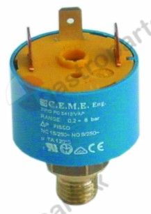 541.131, Replaced by 541143 / 520177 / pressure control ø 35mmpressure range adjustable 0.2-0.9bar