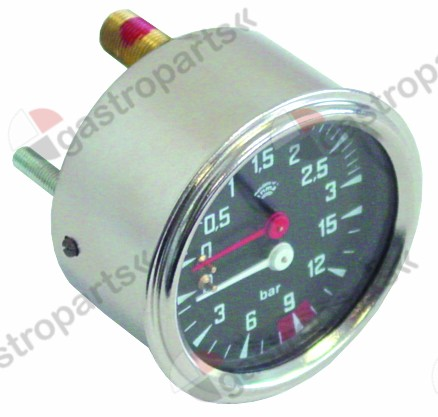 541.285, manometer double scale ø 60mm pressure range 0-3 / 0-15bar
