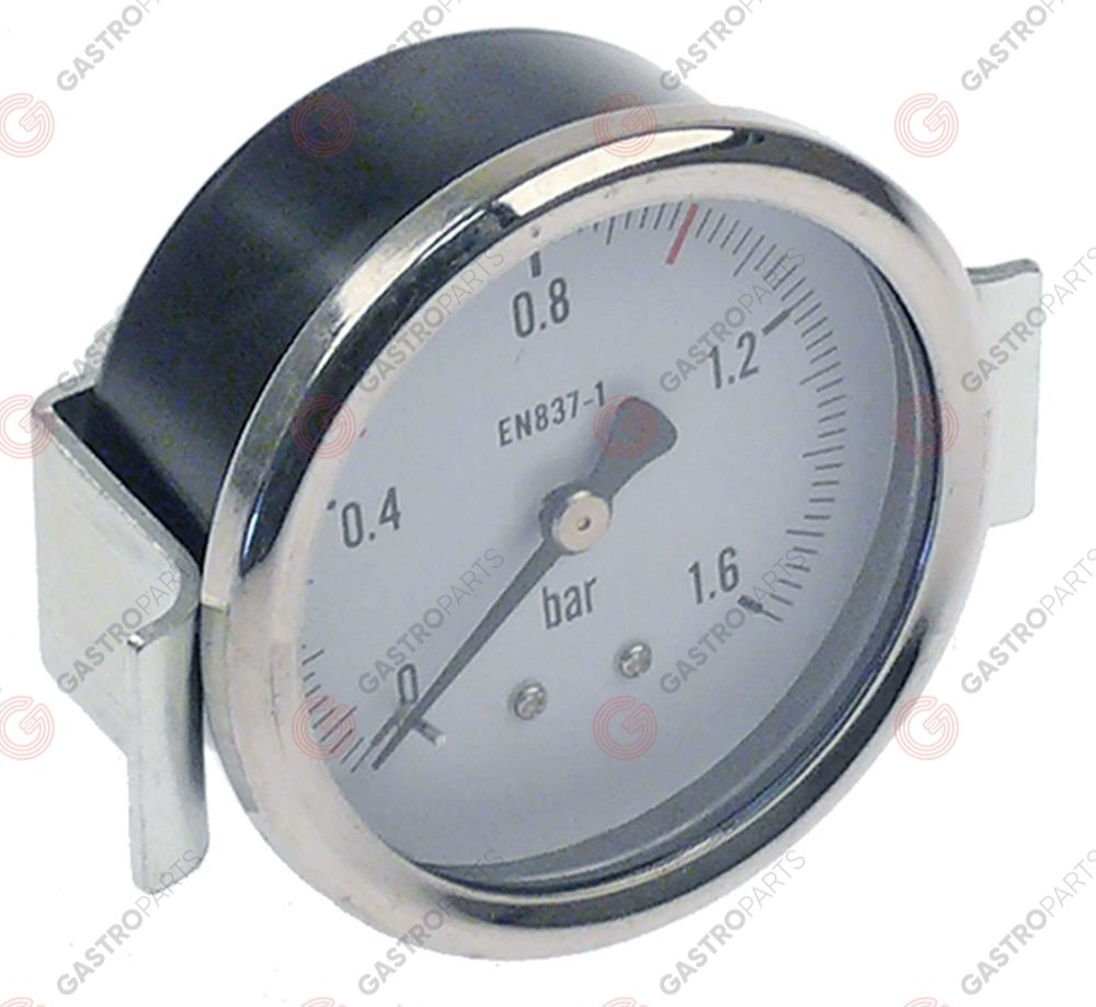 541.427, manometer o 62mm pressure range 0 up to 1bar 1/4