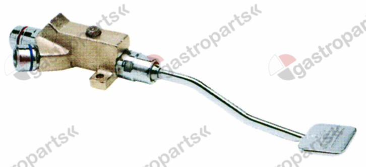 542.933, mixer tap with pedal