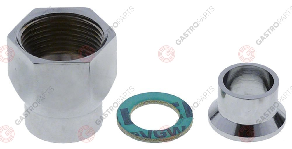 543.282, compression fitting 3  nominal-o 15mm