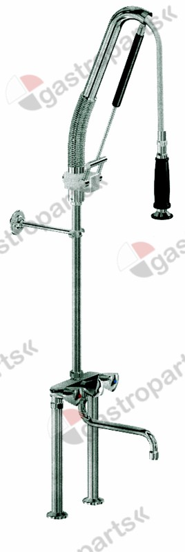 547.242, pre-rinse unit with bridge mixer tap 1