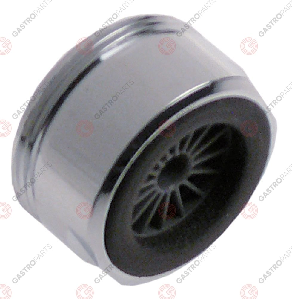 547.493, tap aerator thread M24x1 with plastic insert flow rate 20l/min chrome-plated brass