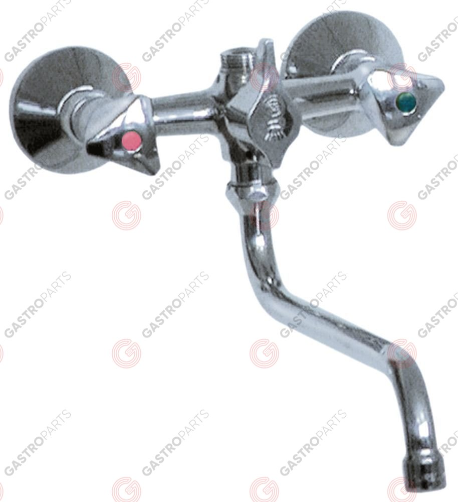547.784, wall-mounted water tap tap head 1
