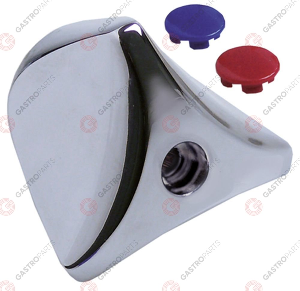 547.965, triangle handle red/blue GASTROTOP PREMIUM