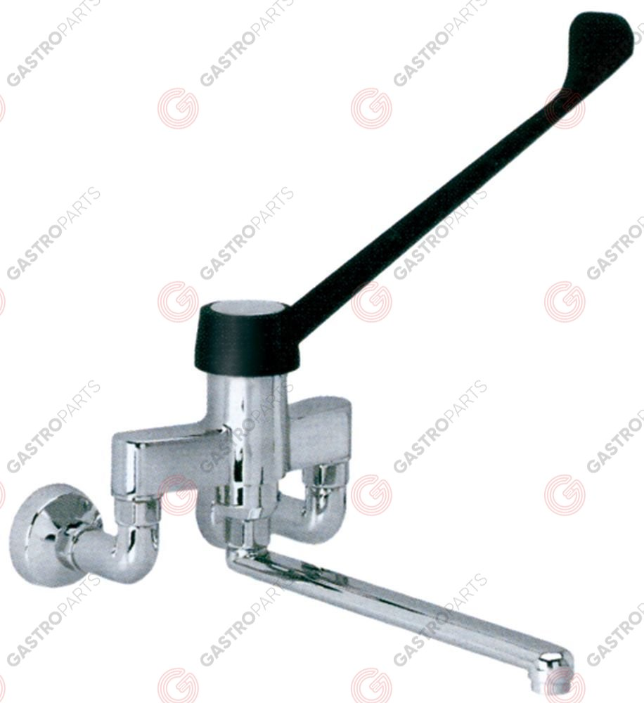 548.133, single lever wall-mounted water tap spout projection 200mm ceramic cartridge Type F