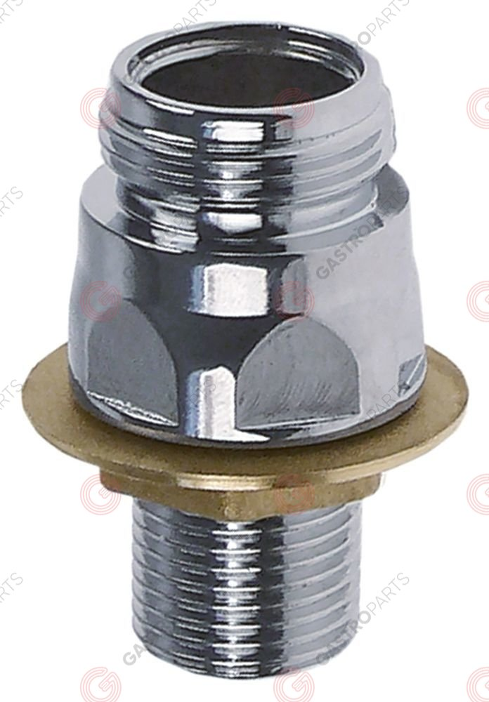 548.379, connection for riser pipe and spout spout connection 3/4