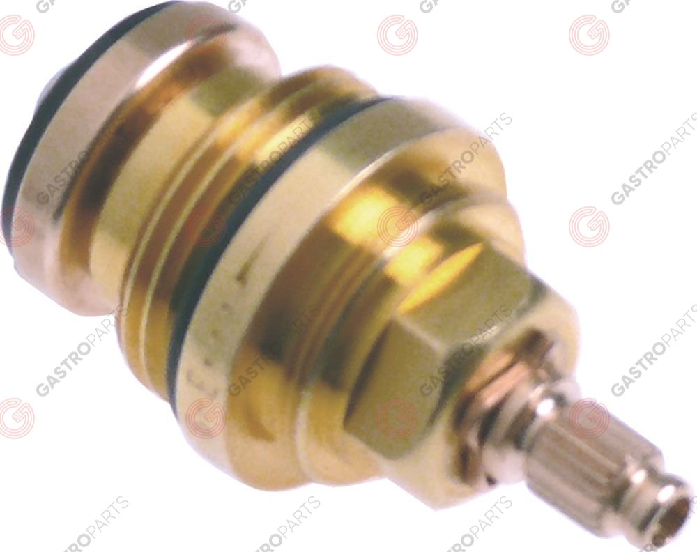548.422, tap head with plunger bush intake thread 3/4