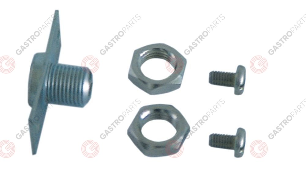 550.259, front fixing kit for safety thermostats thread M10x1
