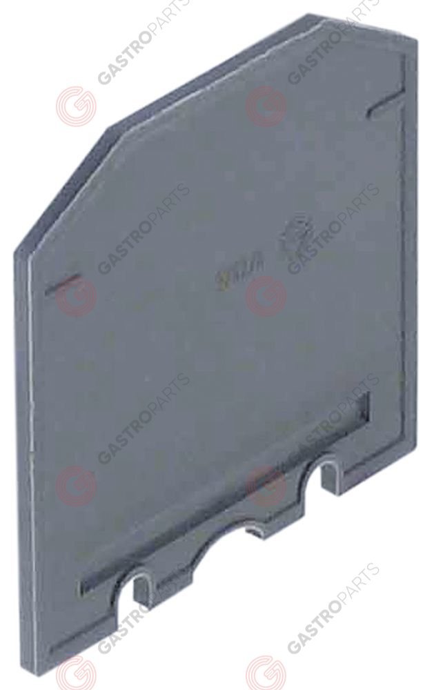550.394, isolation barrier for rail-mounted terminal clamps up to 10mm2 blue