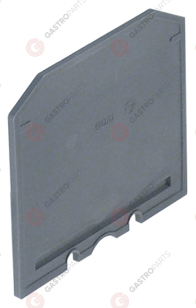 550.399, isolation barrier for rail-mounted terminal clamps up to 25/35mm2 green