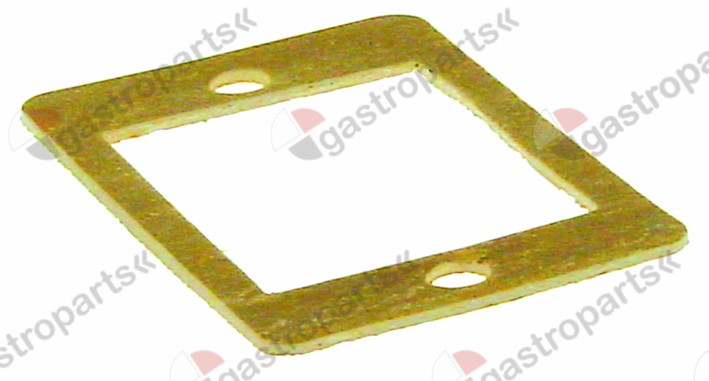 550.546, gasket L 76mm W 50mm hole o 6mm thickness 2mm